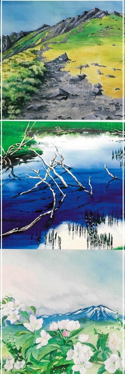 ~自然を描く水彩画教室~ 智恵子アートスクール