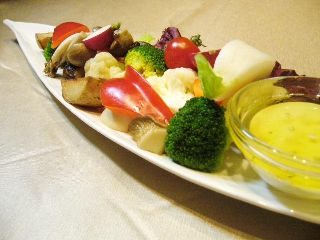 野菜のバーニャカウダー