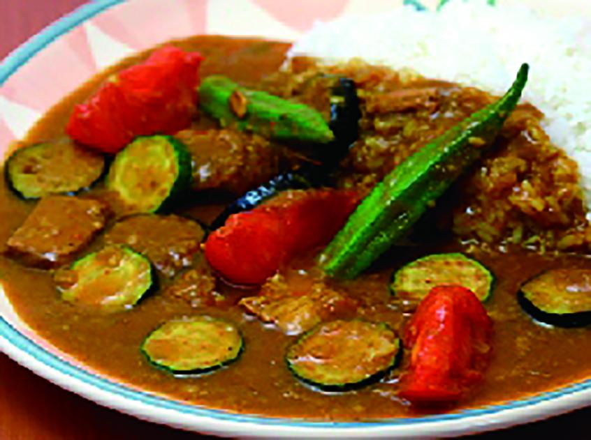 夏野菜のカレー 1,155円
