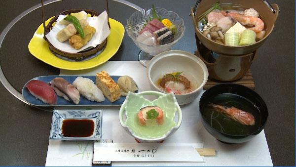 三陸浜料理・鮨 一の○