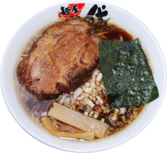 こくまろ醤油炙りチャーシュー麺 850円