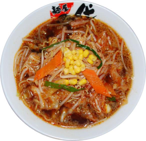 こくまろ醤油 八代辛麺  650円